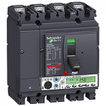 Автоматичен прекъсвач, лят корпус NSX250 Micrologic 5.2 A (LSI защита, амметър), 100 A, 4P, F