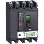 Автоматичен прекъсвач, лят корпус NSX400 Micrologic 5.3 A (LSI защита, амметър), 400 A, 4P/3d +OSN, F