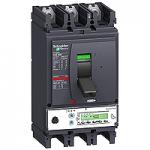 Автоматичен прекъсвач, лят корпус NSX400 Micrologic 5.3 A (LSI защита, амметър), 400 A, 3P/3d, N