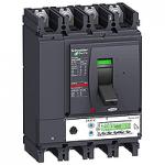 Автоматичен прекъсвач, лят корпус NSX400 Micrologic 5.3 A (LSI защита, амметър), 400 A, 4P/3d +OSN, H