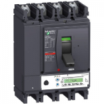 Автоматичен прекъсвач, лят корпус NSX630 Micrologic 5.3 A (LSI защита, амметър), 630 A, 4P/3d +OSN, F