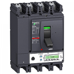 Автоматичен прекъсвач, лят корпус NSX630 Micrologic 5.3 A (LSI защита, амметър), 630 A, 4P/3d +OSN, N