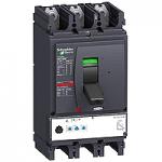 Автоматичен прекъсвач, лят корпус NSX630 Micrologic 2.3M (LSoI защита), 500 A, 3P/3d, H