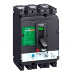 Автоматичен прекъсвач, лят корпус CVS100B, 25 kA, 16 A, 3P/3d, Термомагнитна защита