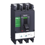 Molded case circuit-breaker CVS100B, 25 kA, 100 A, 4P/4d, Thermal-magnetic