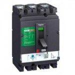 Molded case circuit-breaker CVS100B, 25 kA, 100 A, 3P/3d, Magnetic MA