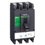 Molded case circuit-breaker CVS100F, 36 kA, 6.3 A, 3P/3d, Magnetic MA