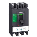 Molded case circuit-breaker CVS630N, 50 kA, 500 A, 4P/3d, Thermal-magnetic