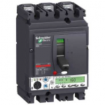Molded case circuit-breaker CVS630F, 36 kA, 630 A, 4P/3d, 4d, 3d + N/2, ETS 2.3