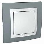 Сглобен девиаторен ключ 10 A 250 V, Техническо сиво/Бял