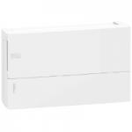 Mini Pragma табло за открит монтаж 1 x 18, с непрозрачна бяла врата