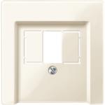 Капак с квадратен отвор, Бяло