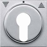 Капак за управление на ролетни щори със секретен ключ, Алуминий
