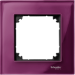 Рамка M-Elegance Glass, едномодулна, Рубин