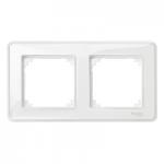 Рамка M-Creative Glass, двумодулна, Прозрачна