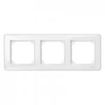 Рамка M-Creative Glass, тримодулна, Прозрачна