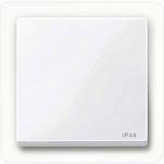 Капак за механизъм IP44, Активно бяло