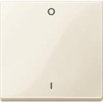 Капак за механизъм, с маркировка 0/1, Бяло