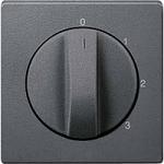 Капак за тристъпков ротативен ключ, Антрацит
