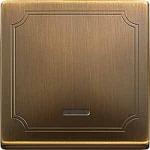 Капак за механизъм с индикаторна лампа, Месинг