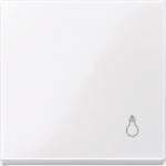 """Капак за механизъм със символ """"Осветление"""", Активно бяло"""