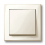 Рамка M-Smart, едномодулна, Крема