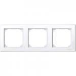 Рамка M-Smart, тримодулна, Активно бяло