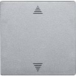 Безжичен бутон за управление на ролетни щори със сензорна връзка, Алуминий