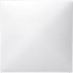 Капак CONNECT за безжичен сензор за димер механизми, Полярно бял