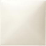 Капак CONNECT за безжичен сензор за димер механизми, Бяло