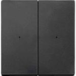 Безжичен бутон CONNECT, двумодулен, Антрацит