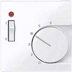 Капак за стаен термостат с ключ, Активно бяло
