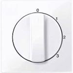 Капак за тристъпков ротативен ключ, Активно бяло