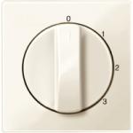 Капак за тристъпков ротативен ключ, Бяло