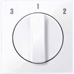 Капак на ротативен ключ за вентилатор, Активно бяло