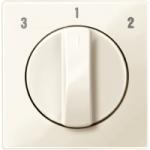 Капак на ротативен ключ за вентилатор, Бяло