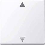 Бутон за управление на щори с функция памет и сензорна връзка, Активно бяло