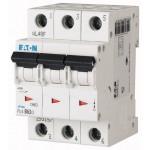Миниатюрен автоматичен прекъсвач PL4, 3P, 6A, 4,5kA, C