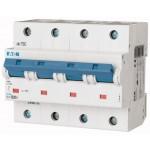 Миниатюрен автоматичен прекъсвач PLHT, 4P, 20A, 25kA, C