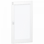 Прозрачна врата с възможност за персонализиране за табла за вграден и открит монтаж 5 x 24, кристал