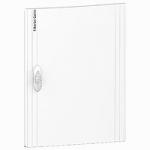 Непрозрачна врата за табла за вграден и открит монтаж, титаниево бяло 2 x 13