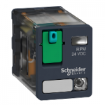 Силово реле RPM 2 З/О 110V DC 15 A със светодиод