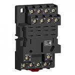 Цокъл RPM, Смесена подредба, Винтово свързване, 250 V за реле с 4 З/О