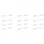 Комплект от символи за 24 сценария, Бял