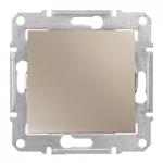 Сериен девиаторен бутон 10 A – 250 V AC, Титаний
