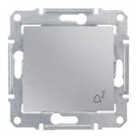 Бутон, със символ звънец  IP44 10 A – 250 V AC, Алуминий