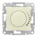 Ротативен бутонен димер RL, 230 V, 60-500 VA, девиатор, Бежов