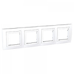 Четворна рамка Unica Basic, Бял