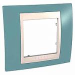 Единична рамка Unica Plus, Светло син/Слонова кост