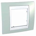 Единична рамка Unica Plus, Морско зелен/Бял